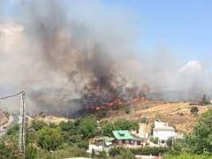 Incendiu de vegetație în sudul Spaniei. Circa 500 de persoane au fost evacuate dintr-o stațiune