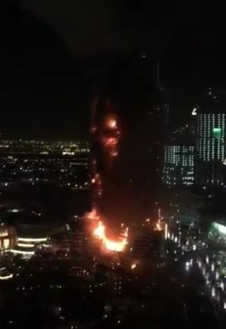 Incendiu in Dubai: Ce informatii are MAE despre romanii aflati in hotel
