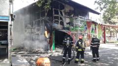 Incendiu in Oraselul Copiilor din Capitala