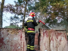 Incendiu in comuna Crampoia