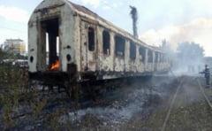 Incendiu in zona Garii de Nord din Bucuresti