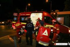 Incendiu intr-un bloc din Capitala: O femeie a murit