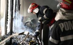 Incendiu izbucnit intr-o gospodarie din localitatea Vrata din cauza neglijentei propietarilor