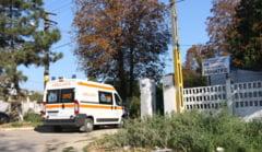 Incendiu la Palazu Mare. Trei bolnavi, transportati cu elicopterul SMURD la Bucuresti