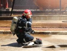 Incendiu la groapa de gunoi din Tulcea