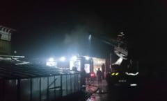 Incendiu la o anexa a Primariei Tg. Ocna