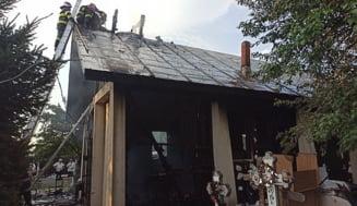 Incendiu la o biserică din Vrancea. Lăcașul de cult a fost făcut scrum