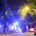 Incendiu la o cladire a Politiei din Bruxelles: Cinci suspecti retinuti. Se crede ca incercau sa distruga probe
