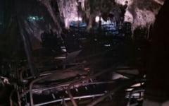 Incendiu la o ferma de porci din Dolj. Patru persoane s-au intoxicat cu fum, iar peste 1500 de animale au murit