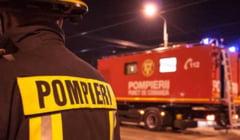 Incendiu provocat de mana criminala, pe Aleea Tineretului