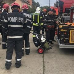 Incendiu pus intentionat la o sala de sport din Timisoara. Zeci de oameni au fost evacuati