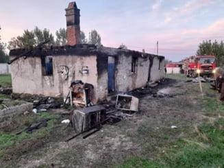 Incendiu puternic in Olt