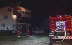 Incendiu puternic la o manastire din Prahova