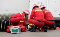 Incendiu si accident cu victime multiple. Exercitiu cu activarea Planului rosu de interventie la Fetesti, pe 26 aprilie