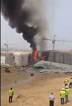 Incendiu urias la unul dintre cele mai mari si mai noi muzee din lume (Video)