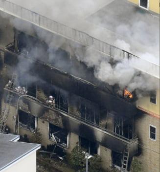 Incendiul de la un studio de animatie din Japonia s-a soldat cu 33 morti (Foto & Video)