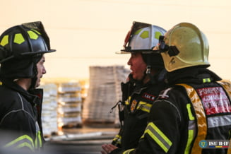 FOTO Mesaj RO-Alert, in urma incendiului din Bragadiru ...  |Incendiu Bragadiru