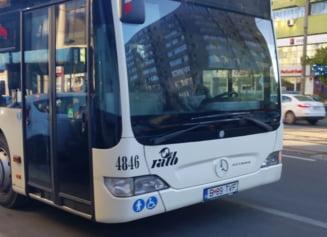 Incep lucrarile pentru banda unica pentru RATB si taxi pe Soseaua Bucuresti-Ploiesti. Va fi separata cu stalpi