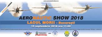 Incepe AeroNautic Show in Bucuresti: Parasutare pe apa, spectacole si expozitii militare