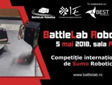 Incepe BattleLab Robotica, concursul studentesc international de Sumo Robotic