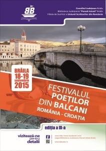 Incepe Festivalul Poetilor din Balcani
