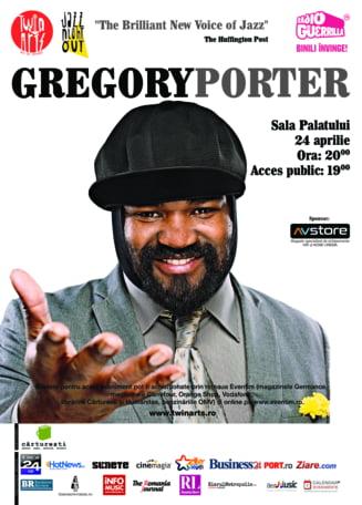 Incepe numaratoarea inversa pentru primul concert Gregory Porter in Romania