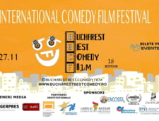 Incepe primul festival international de film de comedie din Capitala