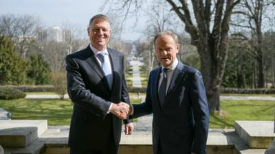 Incepe reuniunea Consiliului European la Bruxelles. Klaus Iohannis il va decora pe presedintele Donald Tusk