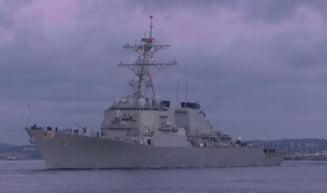 Incident in Marea Neagra: Un avion militar rus s-a apropiat periculos de un distrugator al Marinei SUA