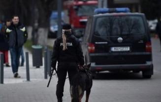 Incident inaintea meciului Romania - Danemarca: Politistii au intervenit