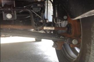 Incident incredibil: O Dacia Duster a ruginit la scurt timp de la cumparare