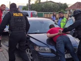 Incident violent in traficul din Bucuresti. Ce au patit agresorii