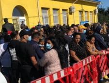 Incidente electorale in serie in Ilfov. Cozi interminabile, scandaluri si injuraturi in fata sectiilor de votare