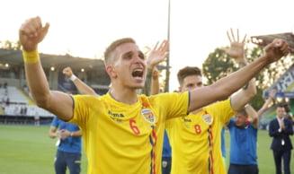 Incidente grave intre suporterii romani dupa calificarea in semifinalele EURO U21: Radoi anunta ca sotia unui fotbalist a fost batuta