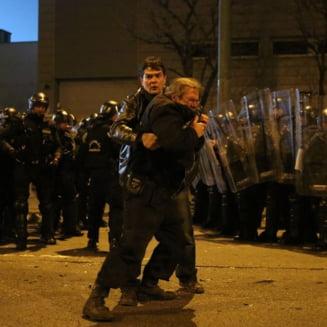 Incidente grave la Budapesta dupa meciul Ungaria - Romania