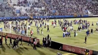 Incidente grave la marele derbi al statului Honduras, soldate cu trei morti dupa violentele din stadion