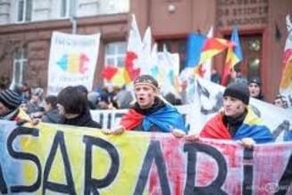 Incidente la Marsul Unirii de la Chisinau