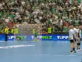 Incidente la meciul dintre Ferencvaros si CSM Bucuresti: Cu ce au aruncat fanii maghiari in Paula Ungureanu
