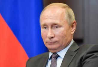 Increderea rusilor in Vladimir Putin a scazut sub 40%, din cauza reformei pensiilor