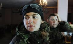 Incredibilele povesti ale temerarelor din Ucraina - femeile care lupta cu separatistii pro-rusi (Galerie foto)