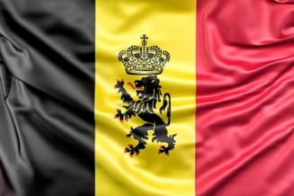 Incurcatura la nivel inalt: Cuplul regal al Belgiei a fost intampinat cu steagul gresit
