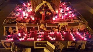 """Indemn pentru formarea unui lant uman intre Curtea de Apel Bucuresti si clubul Colectiv la cinci ani de la tragedie: """"Cerem dreptate!"""""""