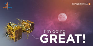 India a plasat o noua sonda spatiala pe orbita Lunii si e gata sa trimita si un robot la sol