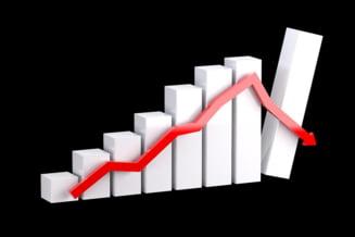 Indicele Dow Jones a inregistrat cea mai mare scadere de la criza financiara din 2008