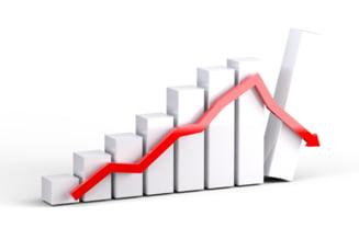 Indicele Dow Jones a inregistrat cea mai mare scadere din istorie
