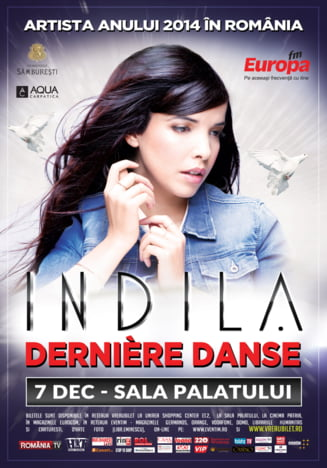 Indila, in concert la Bucuresti