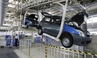Industria auto, la un nivel catastrofal din cauza crizei globale