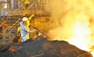 Industria metalurgica, la cel mai scazut nivel din ultimii ani