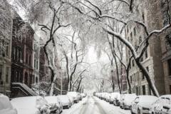 Informare meteo de ninsori si vant. Prognoza speciala pentru Bucuresti