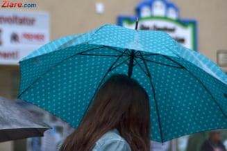 Informare meteo de vreme rea: Vin ploile si ninsorile. La Bucuresti, vor fi maxim 5 grade